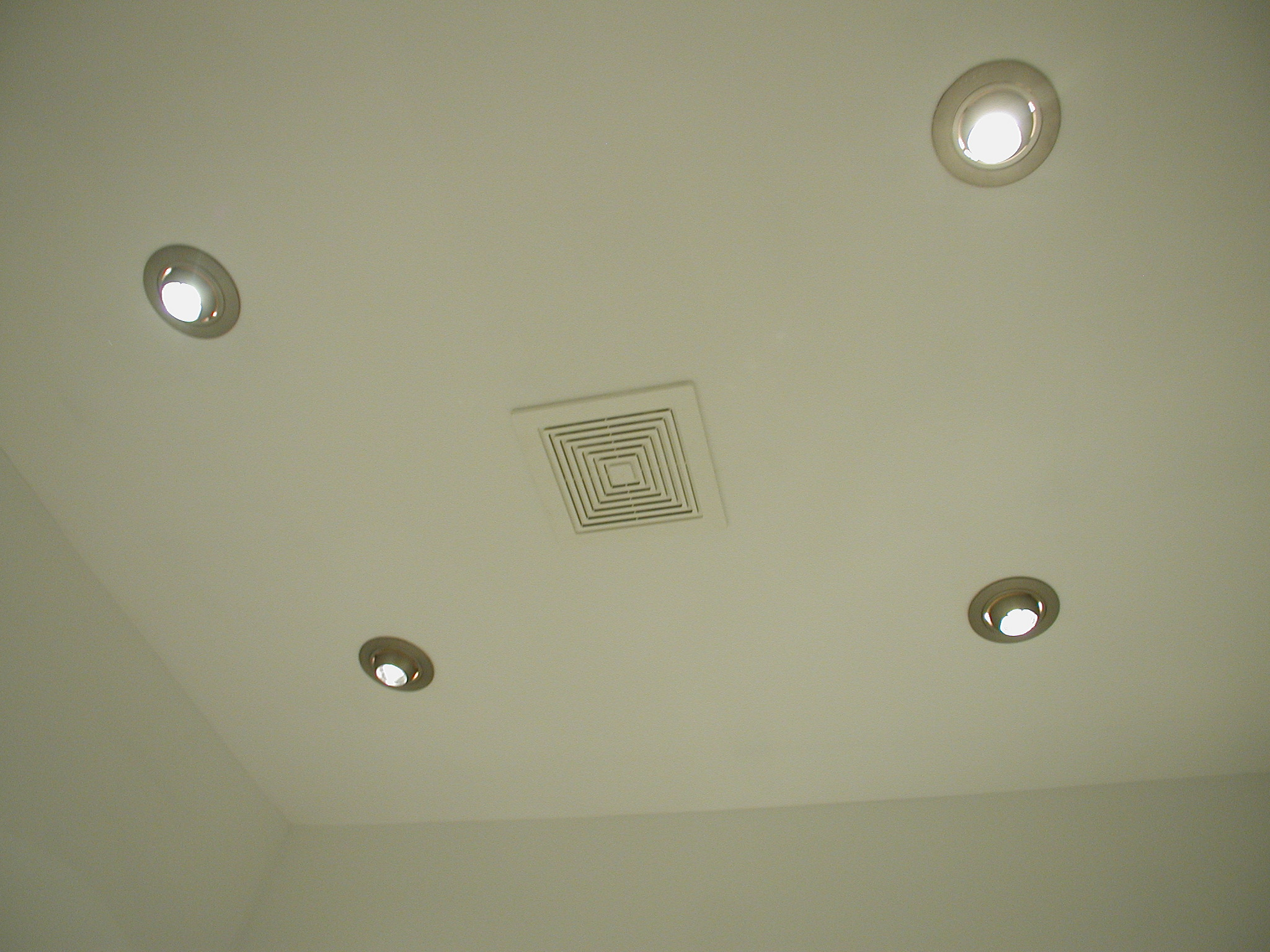 New Ceiling And 4 Multi Directional Recessed Light